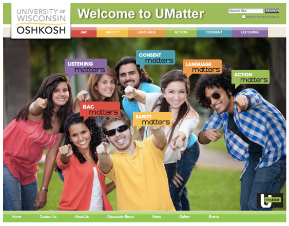 UMatter Website